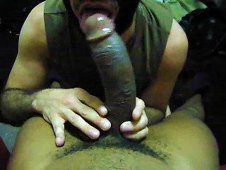 Suck Black Daddy's Monster Dick